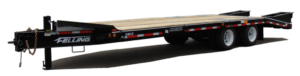Felling Low Profile Deck-Over Trailers